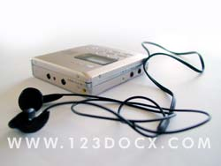 Mini Disc Player Photo Image