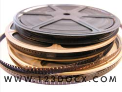 Motion Picture Film Reels Photo Image
