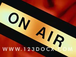 Broadcast Live On Air Photo Image