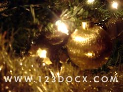 Christmas Tree Decoration 2 Photo Image