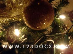 Christmas Tree Decoration 3 Photo Image