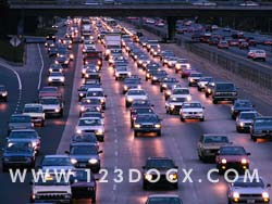 Rush Hour Traffic Photo Image