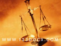 Scales of Justice Photo Image