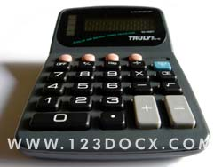 Calculator Photo Image