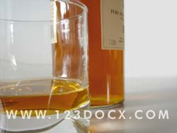Whiskey & Glass Photo Image