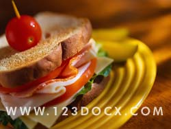 BLT Sandwich Photo Image