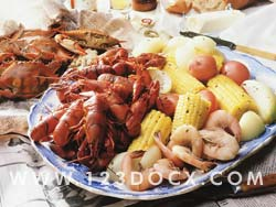 Sea Food Platter Photo Image