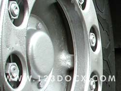 Lorry Wheel Alloy Photo Image