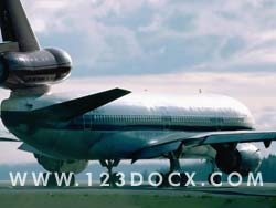 DC10 Commerical Airliner Photo Image