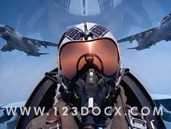 Fighter Pilot Photo Image