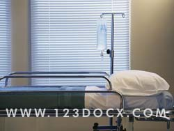 Hospital Bed Photo Image