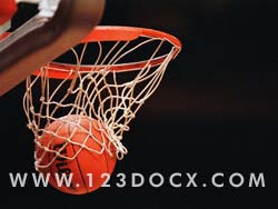 Basketball Slam Dunk Photo Image