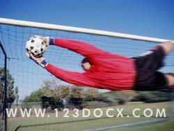 Soccer Goal keeper Photo Image