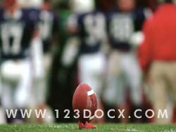 NFL Football Field Goal Photo Image