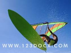 Wind Surfer Photo Image