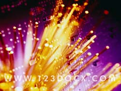 Fiber Optics Photo Image