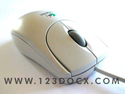 Wheel Mouse Side Photo Image