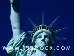 Statue of Liberty Detail Photo Image
