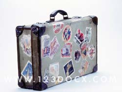 Globetrotter Suitcase Photo Image