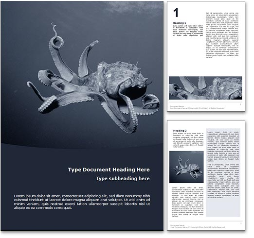 Octopus word template document