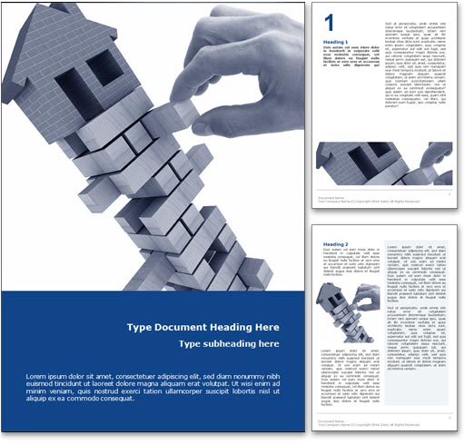 Housing Market word template document