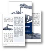The Present Word template in blue shows someone holding a gift as someone receiving the gift pulls on the gift wrapping ribbon to unwrap the present. The Present Microsoft Word template is the perfect Word template for any Christmas gift, birthday present, anniversary, Fathers Day, Mothers Day, Christmas report, Christmas present document or present Word publication.