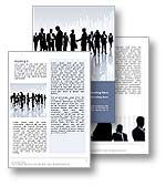 The Communication Word Template in blue shows several business men and business women talking and communicating both in person, together and through mobile phones. The Communication Microsoft Word Template is the perfect word template design for any corporate communications document, public relations strategy, communications publication, corporate social responsibility report, office brochure, or business communication.