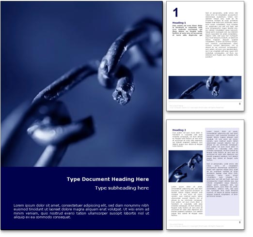 Breaking the Chains word template document