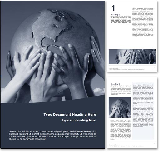 Global Culture word template document