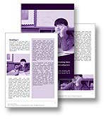 The classroom pupil word template in purple shows a young student day dreaming in class. Surrounded by books, pencils, the classroom pupil is searching for inspiration to find the answer or for creative story writing. The classroom pupil is ideal for any classroom, concentration, learning, or teachers report, document, or education publication.