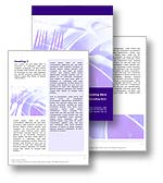 The table setting word template in purple shows a dinner table setting with plate, knife, fork, and spoon. The table setting word document template is the perfect template to illustrate a restaurant, dining table, or dinner table setting document, publication, or presentation.