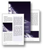 The Abstract Starburst Word template in purple shows a dynamic and high impact explosion of stars and flares as they ignite along a curved path. The Abstract Starburst Microsoft Word template is an all purpose template ideal for any space, star, solar system, space travel, galaxy, cosmos, universe, general publication, company document, or corporate report. 