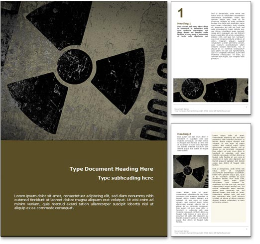 Nuclear Power word template document