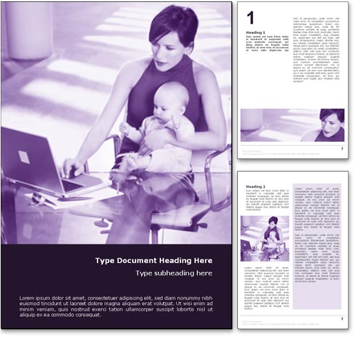 Working Mother word template document