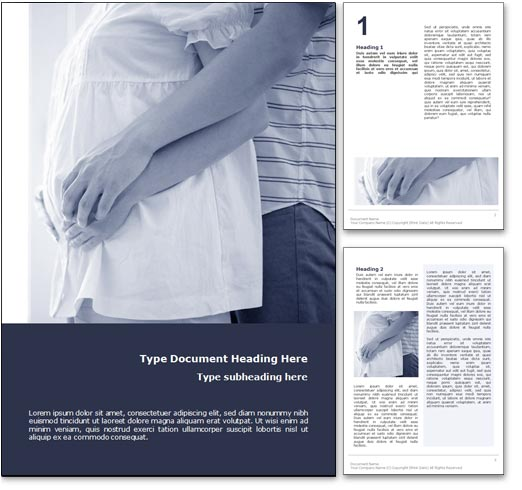 Family Planning word template document