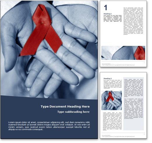 HIV Aids word template document