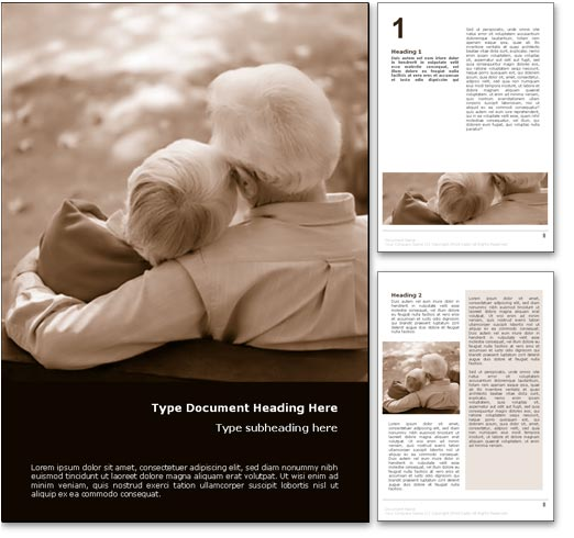 Growing Old Together word template document