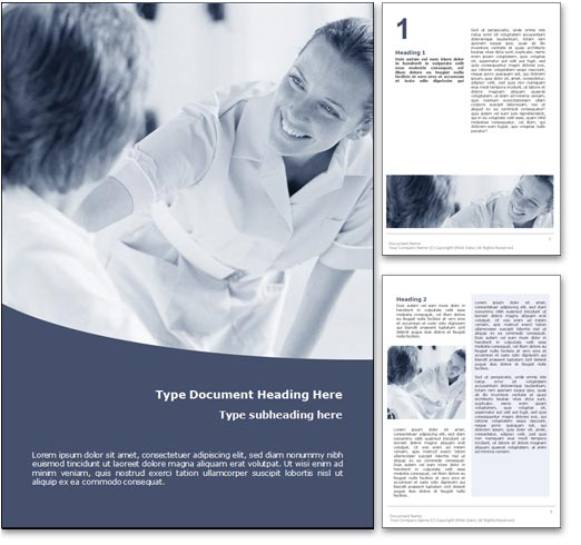 Nursing word template document