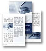 The Doctor Word template in blue shows a medical physician wearing his surgical mask preparing for surgery. The Doctor Word template is the perfect Microsoft Word template for any  medical procedure, surgeon, medical examination, medical practice, operating theatre, physician document, hospital report or doctor publication.