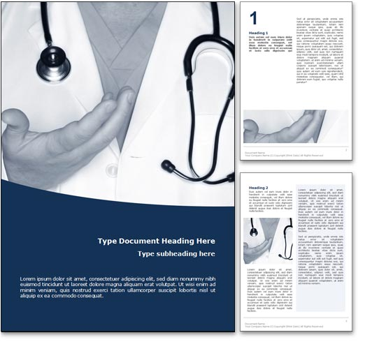 Physician word template document