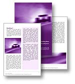 The racing dream word template in purple shows a racing car speeding around a race track. The speed of the car and the motion blur means that the racing dream word document template is perfect for any sports, motor sports, super car, F1 formula one, nascar, car racing, or race car document, publication, or presentation. 