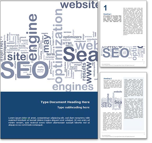 SEO word template document