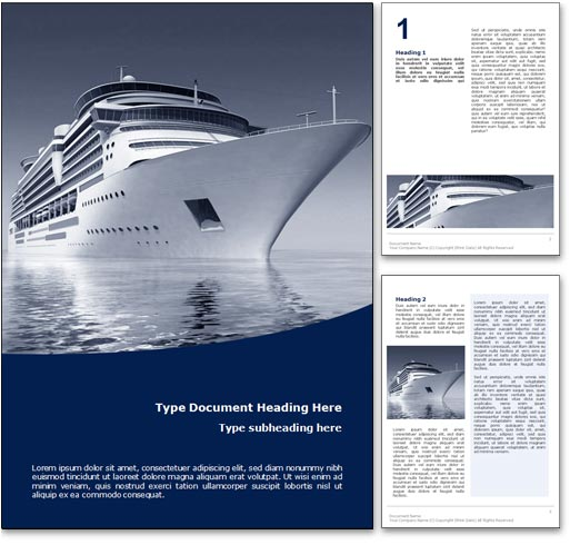Cruise word template document
